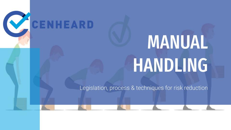 Cenheard Manual Handling Course
