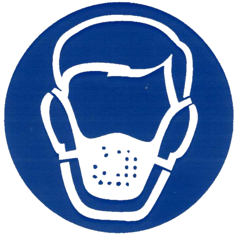 Dust and Fumes Awareness Logo